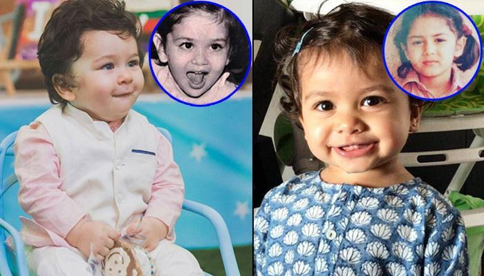 10 Celeb Kids Who Are A Carbon Copy Of Their Parents, Childhood Pictures Prove