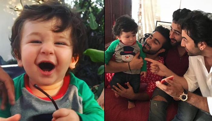 Watch Taimur Doing Bhangra With His Punjabi 'Maamus', Steals Limelight From Kapoors