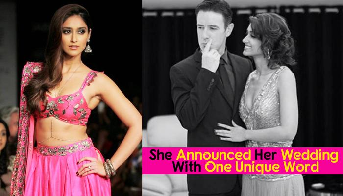 Ileana Secretly Ties The Knot With Boyfriend Andrew, The Way To Announce Her Wedding Is Most Unique