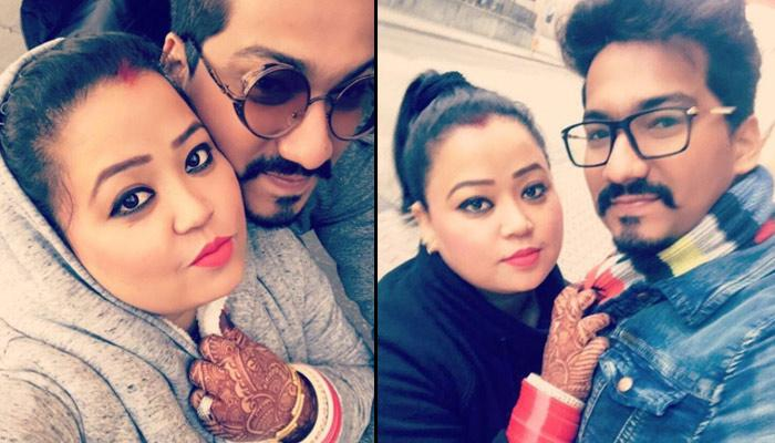 Newly-Weds Bharti Singh And Haarsh Limbaachiya's Honeymoon Pics Are All About Love