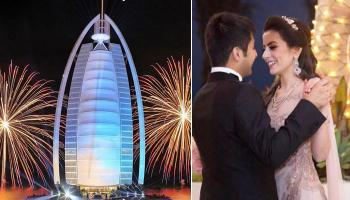 This Couple's Wedding At The Burj Al Arab Terrace Is What A Perfect, Fairytale Wedding Is Made Of
