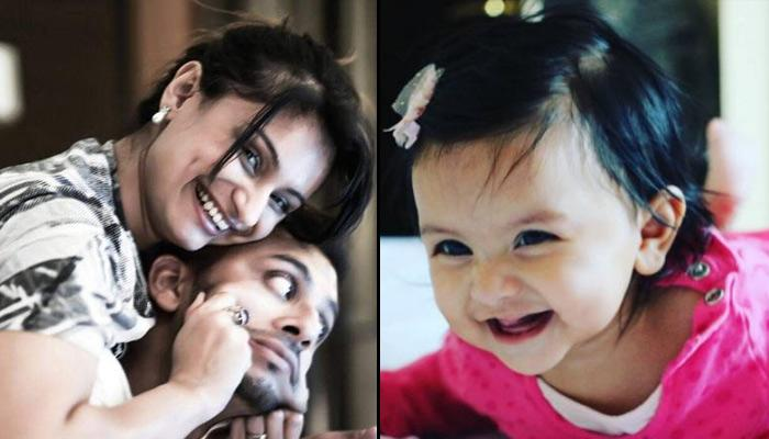 This Video Of Dimpy Ganguly's 6-Month Old Daughter Saying 'Baba' Will Make You Go Aww!