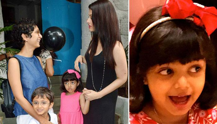 Aaradhya Bachchan And Azad Rao's Annual Day Performance To 'Rail Gaadi' Is Full Of Adorbs