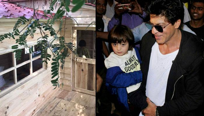 Shah Rukh And Gauri Khan Gifted A Beautiful Treehouse To Their Little Prince AbRam