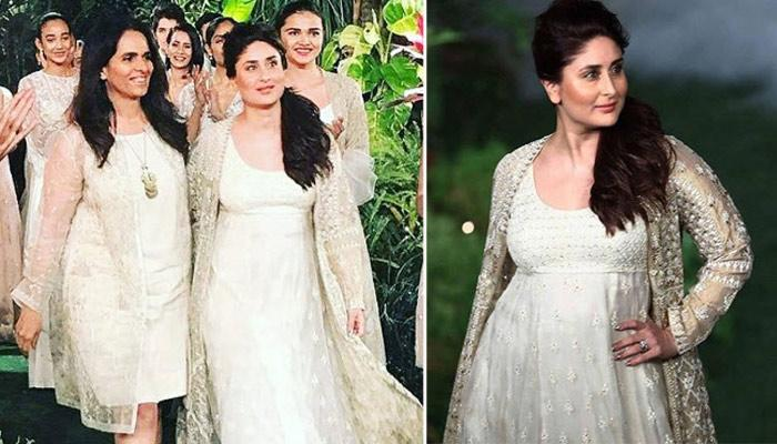 Kareena Kapoor Khan Walks The Ramp After 45 Days Of Her Delivery