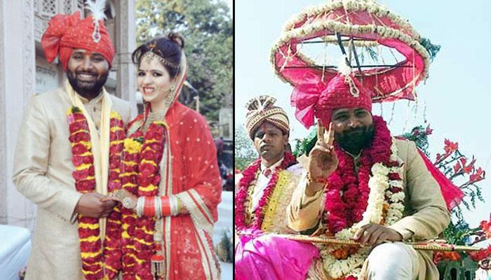 AAP MLA Vishesh Ravi Gets Married In A Community Wedding Alongside A Tailor And An Electrician