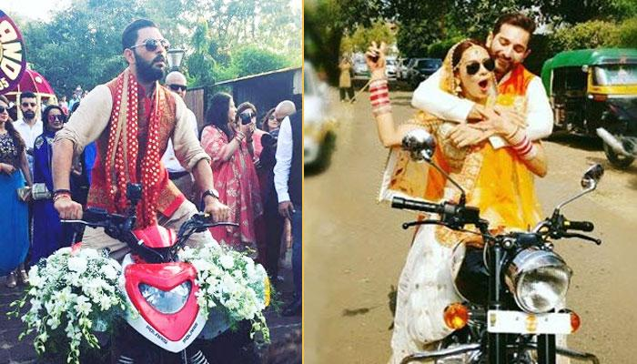 5 Popular Celebrities Who Made The Most Hatke Entry At Their Own Wedding
