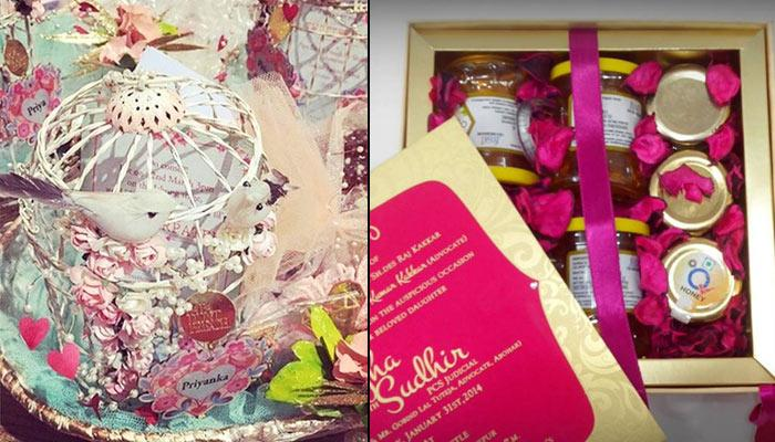 8 Innovative Things To Send Along With The Wedding Invite Instead Of 'Mithai Ka Dabba'