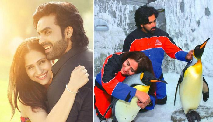 Famous Television Couple Hunar Hale And Mayank Gandhi's Honeymoon Pictures Are Pure Love