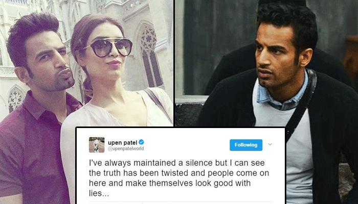 Karishma Tanna's Annoyed Ex-Boyfriend Upen Patel Thanked Her For Using Him
