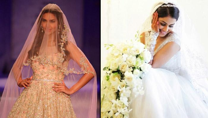 12 Bollywood Actresses Who Looked Stunning As Christian Brides