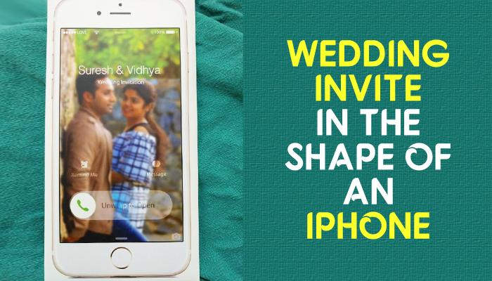 This Super-Innovative Wedding Invite Of Delhi-Based Couple Is Going Viral