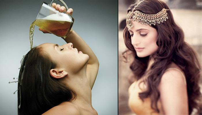 7 Beer Hair Mask Recipes That Boost Hair Growth And Give Volume To Hair