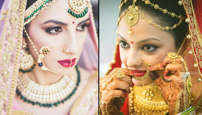 Brides Can Don These Breathtaking Nath Designs To Enhance Their Overall Bridal Look