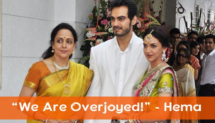 Hema Malini Confirms That Esha And Bharat Are All Set To Become Parents Soon