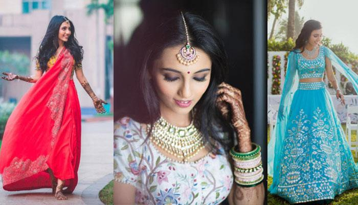 Fashion Blogger Masoom Minawala's Outfits For Her Wedding Celebrations Are Every Girl's Dream