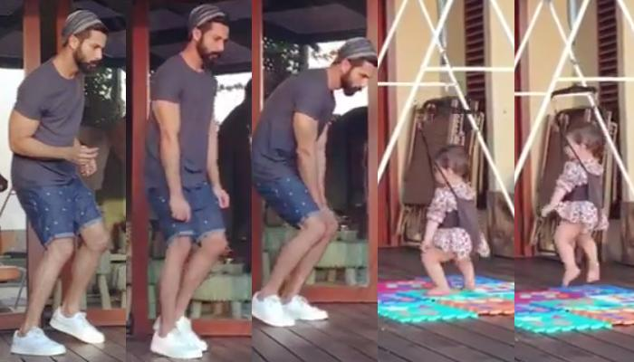 Shahid Shared An Adorable Video Of Him Dancing With Baby Misha And It Is So Cute