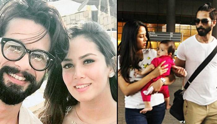 Shahid Kapoor And Mira Rajput's Pictures With Baby Misha Kapoor Are Too Cute To Be Missed