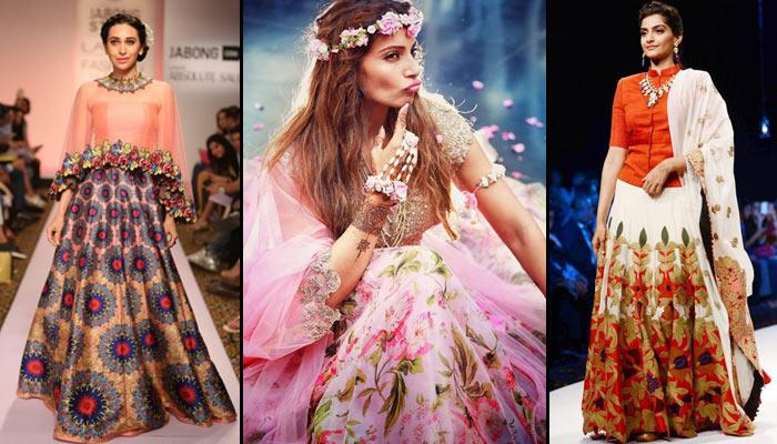 10 Best Floral Lehenga Designs To Flaunt This Summer