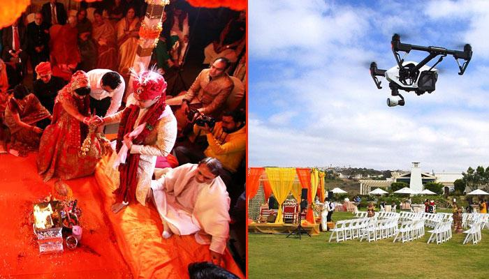 5 Reasons Why You Should Opt For Drone Photography At Your Wedding