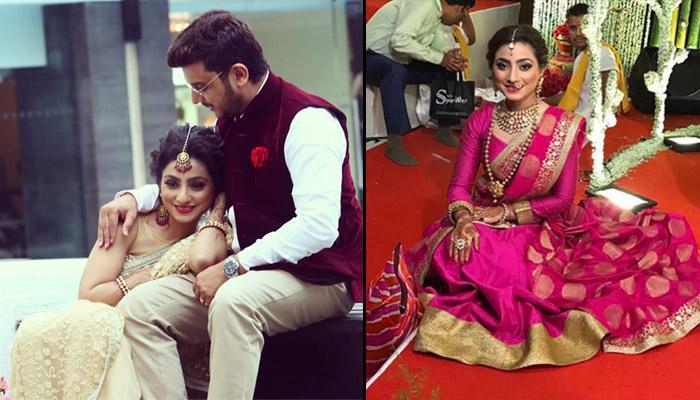 'Balika Vadhu' Actress Neha Marda Looks Stunning At Her Sister's Wedding