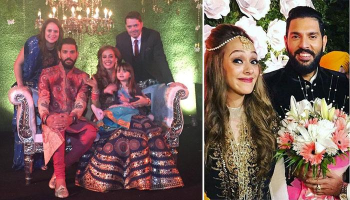 These Unseen Pictures Of Yuvraj Singh And Hazel Keech's Wedding Will Leave You Mesmerised
