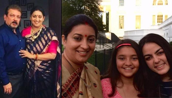 Smriti Irani Shares A Beautiful Bond With Her Step-Daughter Shanelle Irani