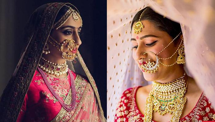 40 Indian Brides Flaunting Their Gorgeous Nath Designs