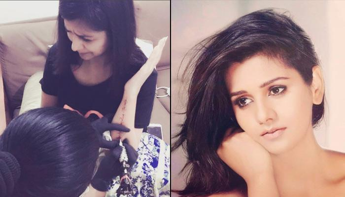 Dalljiet Kaur Got A Tattoo Done - The Name Of The Most Special Man In Her Life