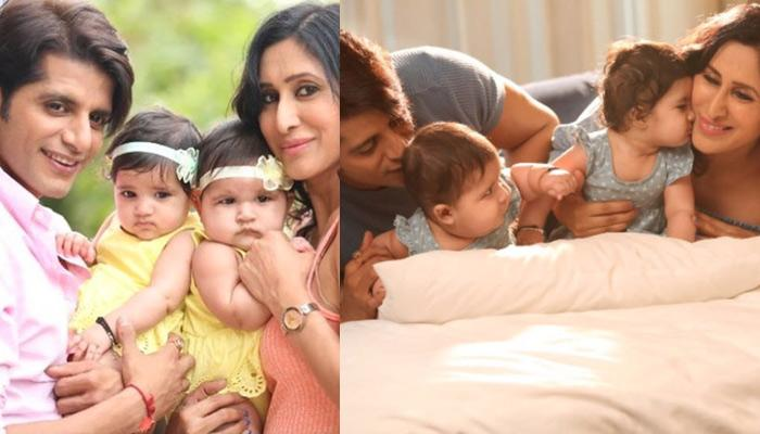 Karanvir Bohra And Teejay Sidhu Had An Adorable Photoshoot With Their Twin Daughters