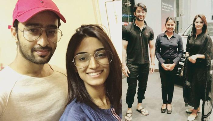 Shaheer Sheikh Made His Alleged Girlfriend Erica Fernandes A Part Of His Special Day