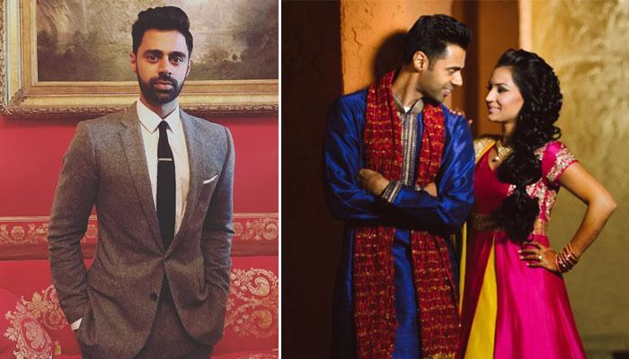 Comedian Hasan Minhaj Adorably Dancing To 'Saajan Ji Ghar Aaye' On His Wedding Is Just Delightful
