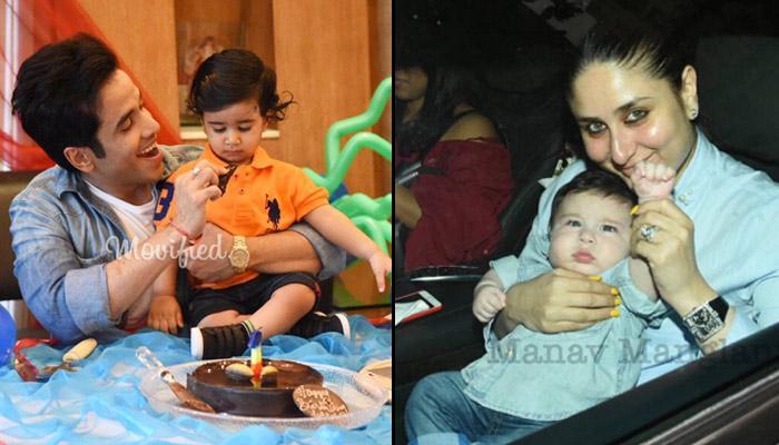 Taimur Ali Khan Pataudi Attends Tusshar Kapoor's Son Laksshya's First Birthday Party