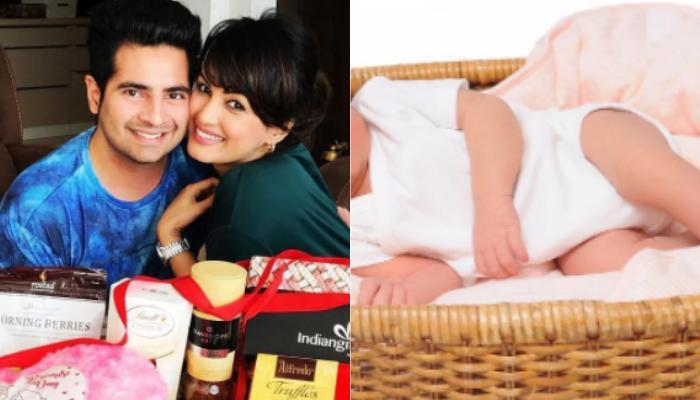 Nisha Rawal And Karan Mehra Shared Adorable Picture Of Their Baby Along With His Name