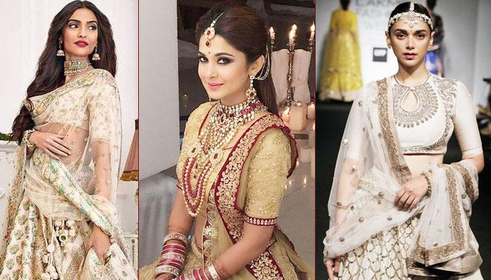 Interesting Ways To Style A Golden Lehenga If You Are Done With Red And Maroon