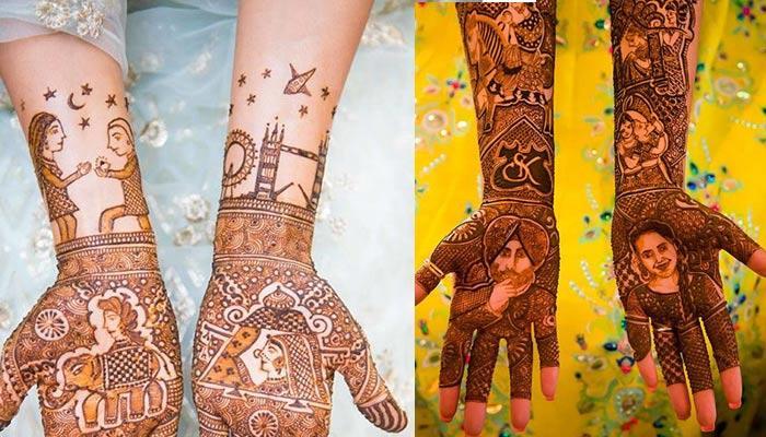 7 Creative Ways To Personalise Your Bridal Mehendi