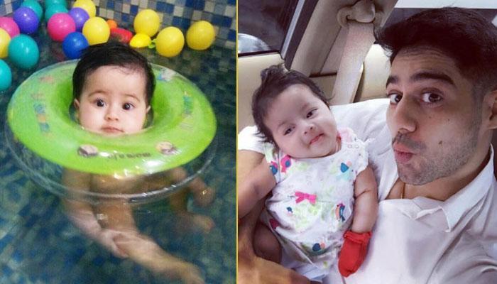 Adorable Moments Of 'Mahabharat' Actor Lavanya Bhardwaj And His Baby Girl Is Cuteness Overdose