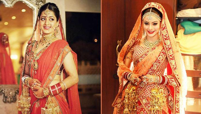ad33b125db Best Ways For Indian Brides To Wear An Orange Lehenga On Your Wedding