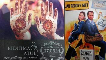 10 Most Creative And Unique 'Save The Date' Invitation Ideas For Indian Couples