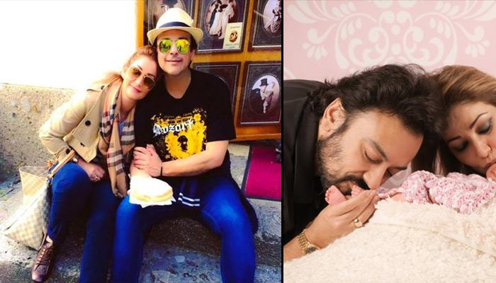 Adnan Sami Shares The First Complete Picture Of His Newborn And She Looks Like A Doll