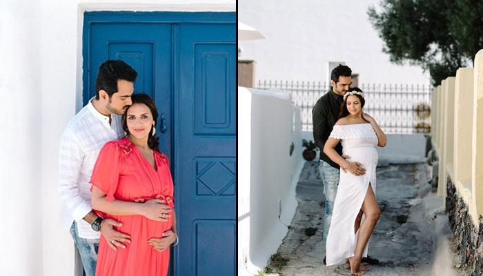 Esha Deol And Bharat Takhtani's Maternity Photo Shoot In Greece Is Magical In Every Sense