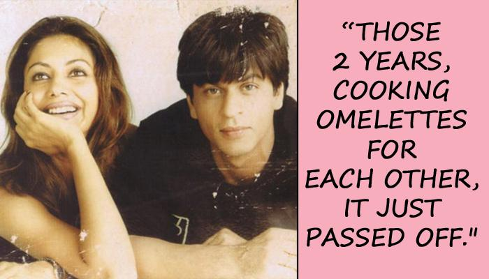 Shah Rukh Shares How Newly Married Gauri Used To Be By His Side During His Struggling Days In Bombay
