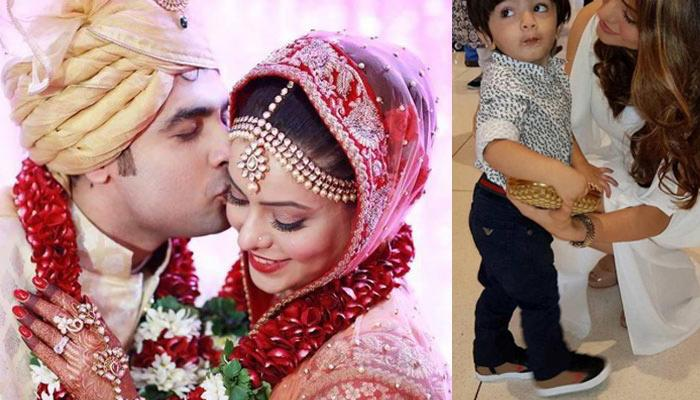 This Picture Of 'Kahin Toh Hoga' Fame Aamna Sharif With Her Baby Boy Is Motherly Love In A Frame