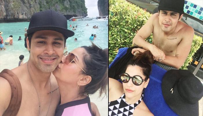TV Couple Ssudeep Sahir And Anantica Sahir Romanced On Their Exotic Beach Holiday