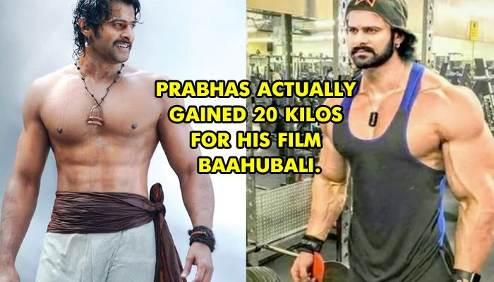 'Baahubali' Actor Prabhas Followed This Strict Fitness And Diet Schedule For Ripped Body