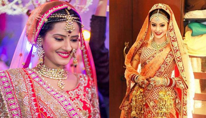 9 Television Actresses Who Wore Striking Jewellery At Their Wedding