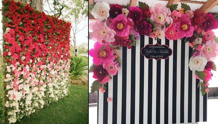 These Stunning Floral Backdrops For Your Perfect Wedding Pictures Will Only Make Others Jealous