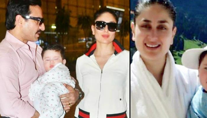 7-Month-Old Taimur Is Posing Like A Star In His 1st Vacation Pics With Kareena And Saif