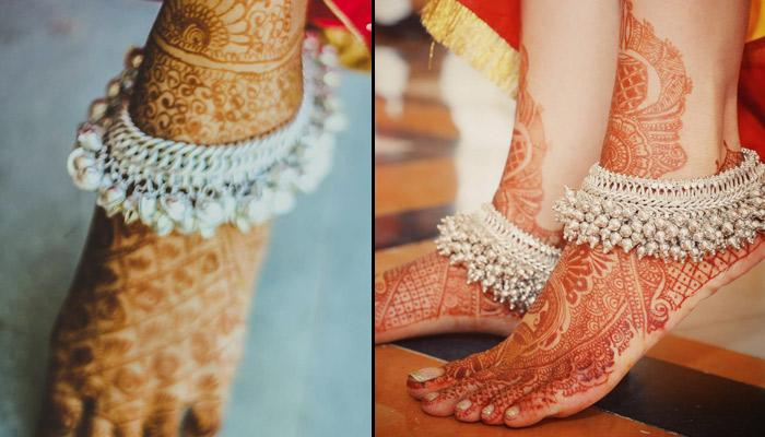 10 Appealing And Trendy Anklet Designs For All Brides-To-Be
