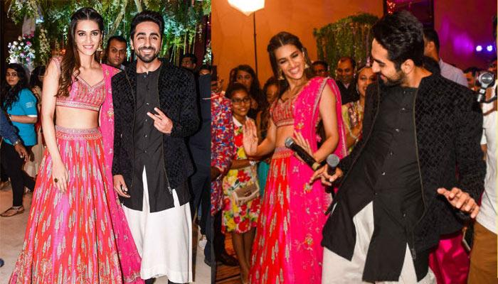 Ayushmann Khurrana And Kriti Sanon Gatecrashed A Wedding And What Happened Next Was Shocking